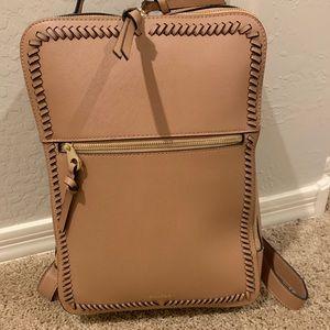 Calpak Kaya Laptop Backpack Bag Caramel Tan